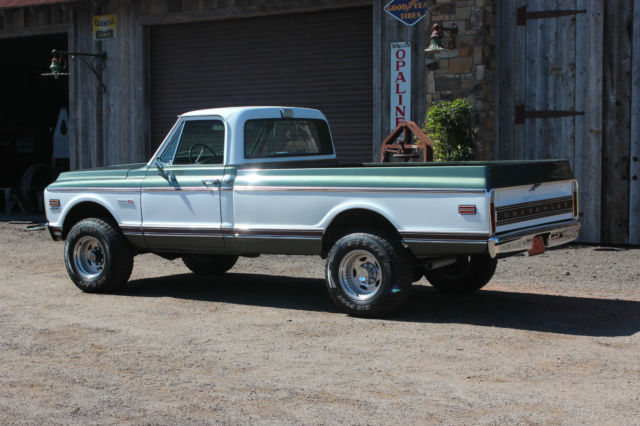 1972 chevy truck cheyenne k20 4wd 4x4 3 4 ton truck. Black Bedroom Furniture Sets. Home Design Ideas