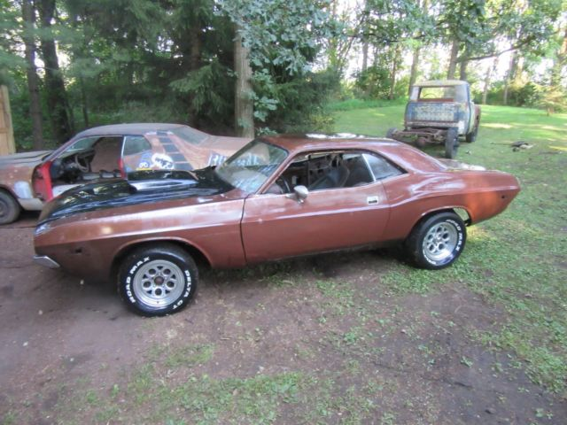 1972 Dodge Challenger Restoration Project Muscle Car Mopar