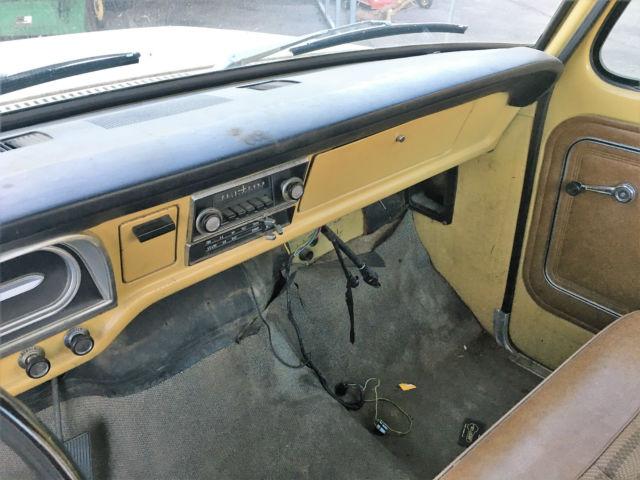 1972 Ford F100 Explorer 67 68 69 70 71 72