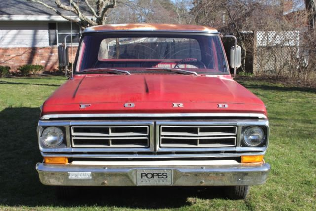 1972 Ford F100 Ranger Bumpside Customized By Pope S Hot