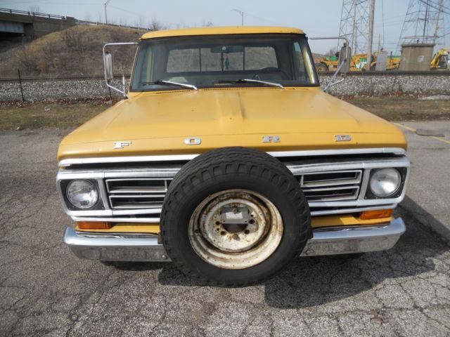 1972 Ford F250 Custom 390 V8 Auto Trans Western Truck