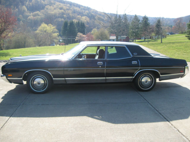 1972 Ford Ltd For Sale >> 1972 FORD LTD BROUGHAM GALAXI CLASSIC ANTIQUE SEDAN 429CID 4bbl Auto other