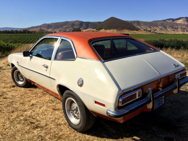 1972 Ford Pinto 4 speed 2.0l very clean