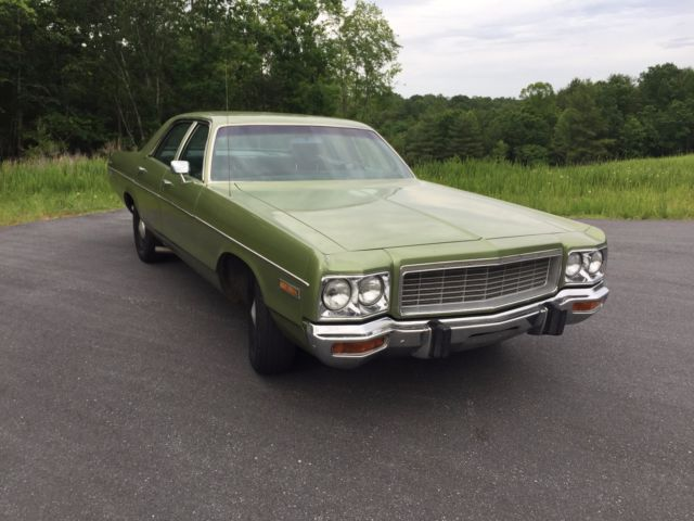 1973 Dodge Polara 360 V8 Driver Mopar Chrysler Plymouth 72