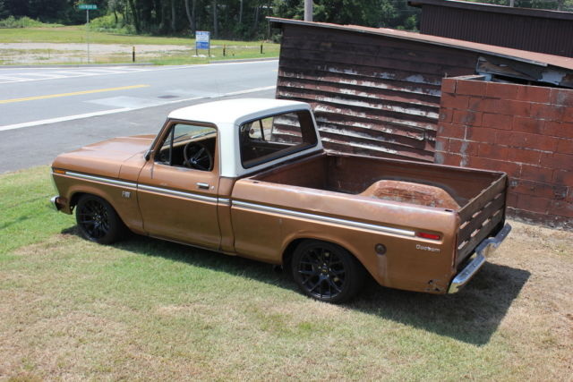 1973 F100 AWESOME PATINA, CROWN VIC SUSPENSION, FULL RESTO 73 CUSTOM