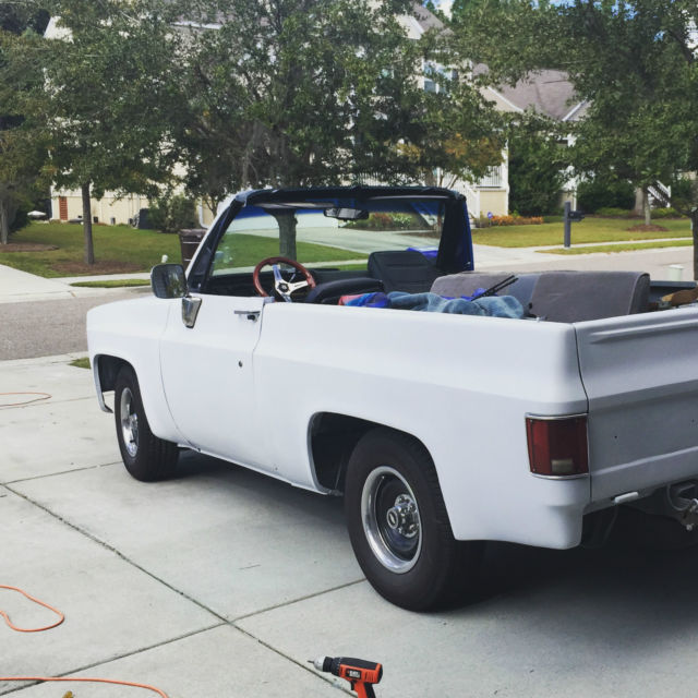 1974 Chevrolet K5 Blazer Factory Full Convertible 2WD