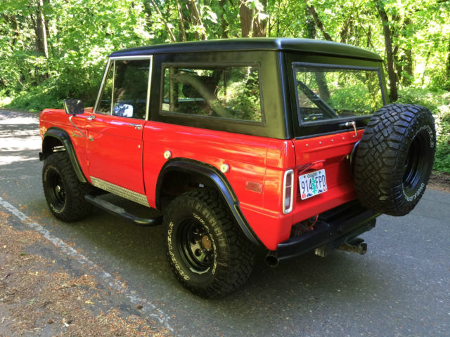 Used Tires Portland >> 1974 Ford Bronco Ranger. Restomod Fuel Injected 4x4 1966 ...