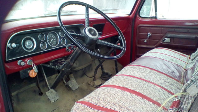 1966 ford pick up wiring diagram 1974    ford    f600 grain truck  original owner  red  8 x12  1974    ford    f600 grain truck  original owner  red  8 x12