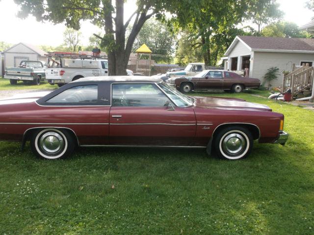 1975 Chevrolet Impala 1974 1976 Caprice Glasshouse Donk