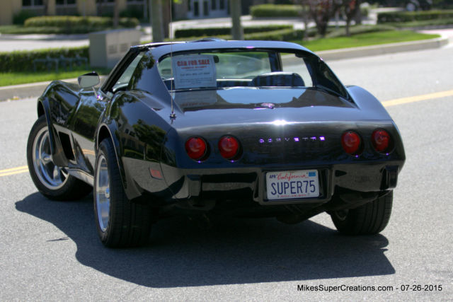 Corvette Stingray Coupe Fuel Injected Supercharged Driver Vette on Chevy 383 Fuel Injected Crate Engine