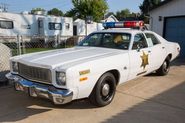 Used Police Car For Auction