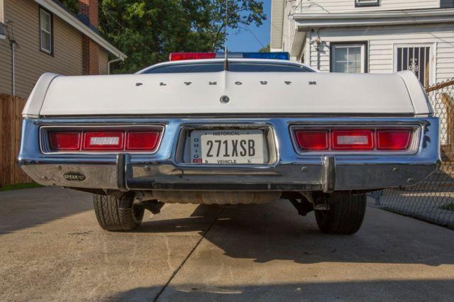1975 plymouth fury dukes of hazzard police sheriff rosco show car. Black Bedroom Furniture Sets. Home Design Ideas