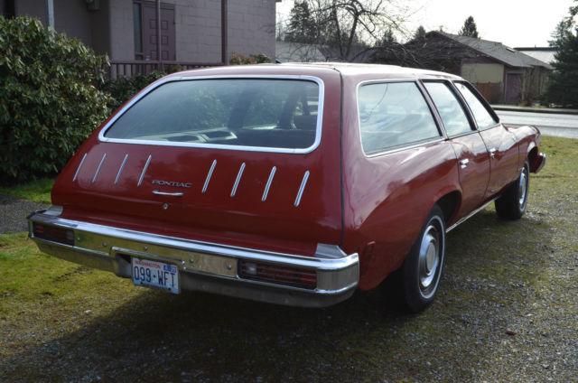 1975 Pontiac Lemans Safari Station Wagon 400 Cid Muscle