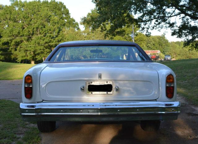 1976 Chevrolet Monte Carlo Custom Rolls Royce Body Kit