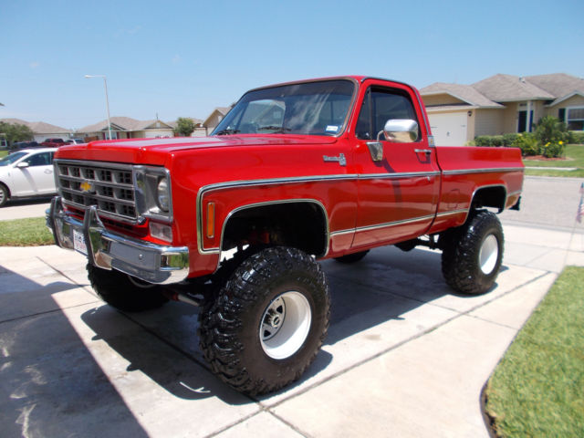 1976 chevrolet silverado k10 4x4 truck. Black Bedroom Furniture Sets. Home Design Ideas