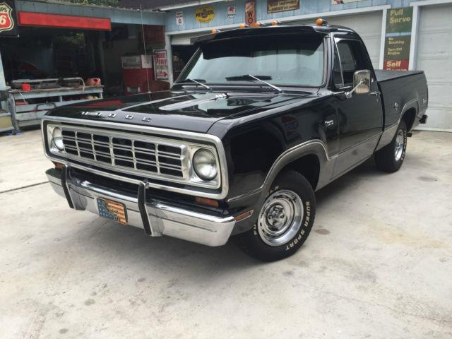1976 Dodge Truck D100 Short Bed Factory 400 C I  D