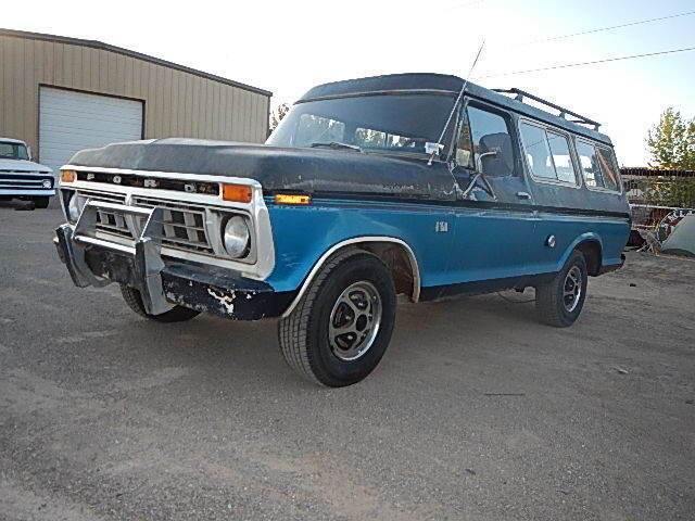 1976 Ford B 100 2dr Suburban Very Rare Original Made In