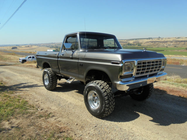 1976 Ford F150 Show Truck Short Bed Brand New Restored 4x4