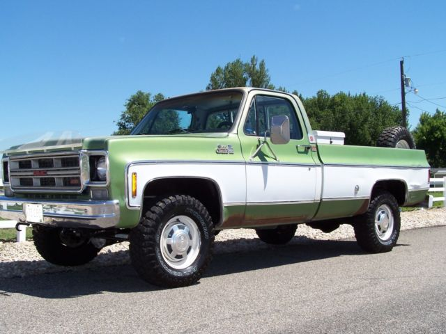 1976 Gmc K20 Chevy 4x4 Original Condition Low Miles 1 Owner