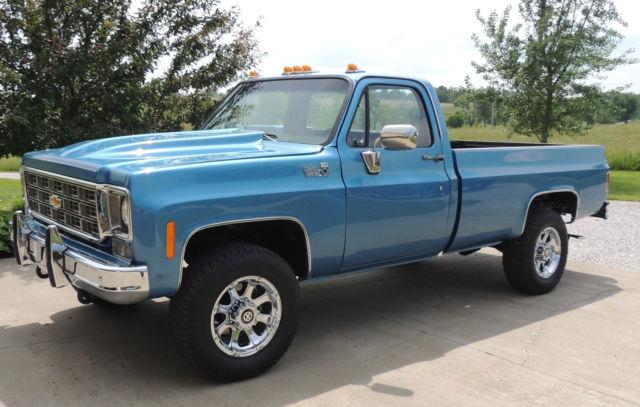 1977 Chevrolet K20 P U Truck Custom Deluxe 20 3 4 Ton 1