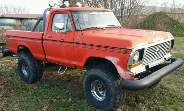 1977 Ford F100 Lifted With 38 Quot Tires