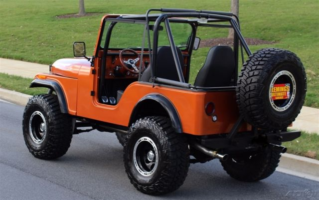 1977 Jeep CJ **BRAND NEW CUSTOM BUILT** with Chevy V8 and EVERYTHING ...