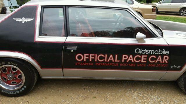 1977 oldsmobile delta 88 royale indy 500 festival pace car 442 hurst. Black Bedroom Furniture Sets. Home Design Ideas