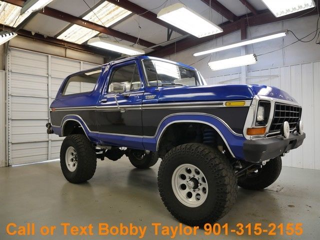 Mt Moriah Auto Sales >> 1978 Bronco Lifted Wheels Tires Custom Paint 4X4 Very Little Rust, Clean Big