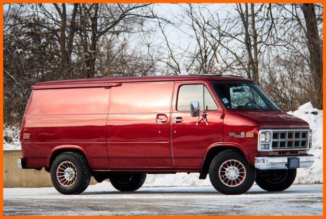 1978 GMC Van - Information and photos - MOMENTcar