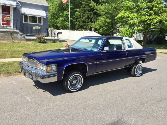 1979 cadillac coupe deville low rider hydraulics very clean