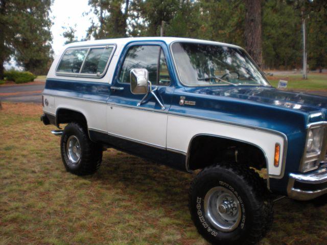 1979 Chevrolet Blazer K5 Cheyenne 4 X 4