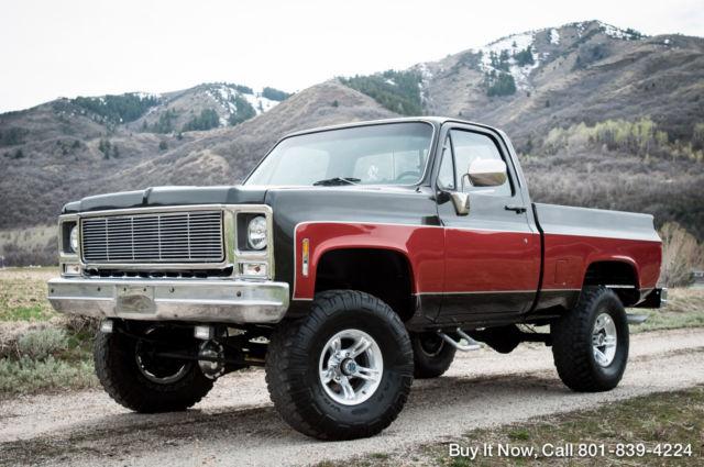 1979 Chevy Truck Cheyenne K10 4X4 - SHORT BED, SHOP TRUCK ...