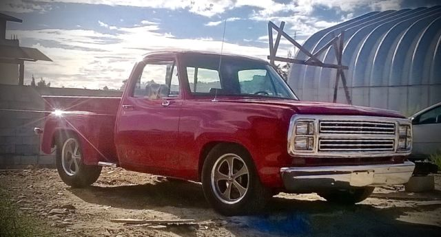 1979 Dodge Custom Adventurer D150 Truck Frame Off Restoration