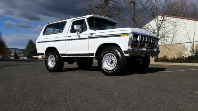 1979 Ford Bronco Ranger XLT 4x4 With Air Option And Original Interior