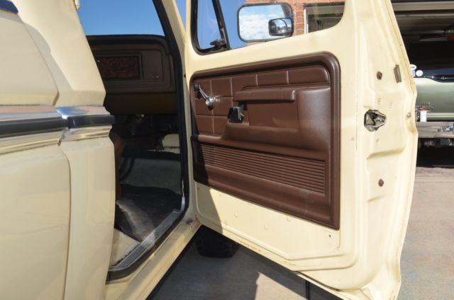 1979 Ford F150 Custom 4x4 351M 4 Speed Manual NP205 ...