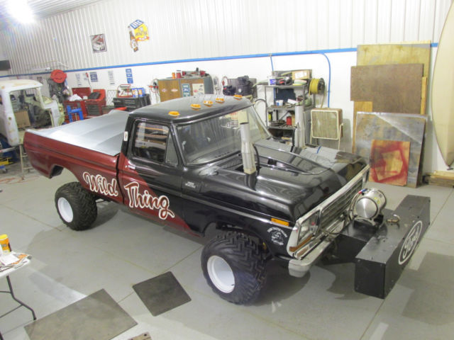 1979 Ford 1500 4 Wheel Drive Tractor : Ford f super stock pulling truck