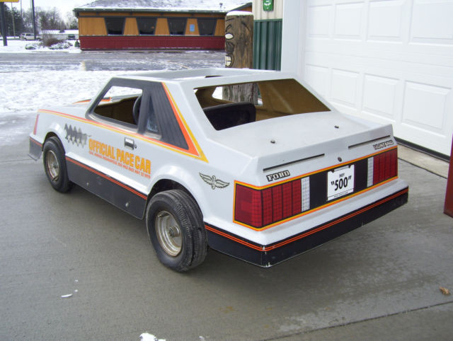 1979 ford mustang indy pace car go cart. Black Bedroom Furniture Sets. Home Design Ideas