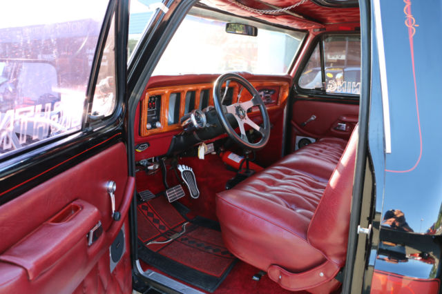 Ford F150 Bed Size >> 1979 Ford Ranger F150 4x4 For Sale~Big Block~Over The Top ...