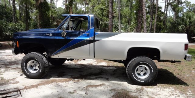 1979 GMC K10 4X4 Lifted PICKUP TRUCK Long Bed Custom Paint ...