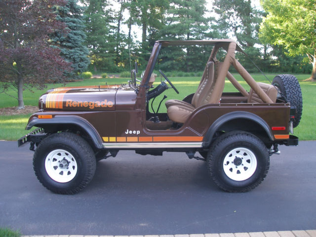 1980 Jeep Cj5 Renegade Sport Utility 2 Door 2 5l