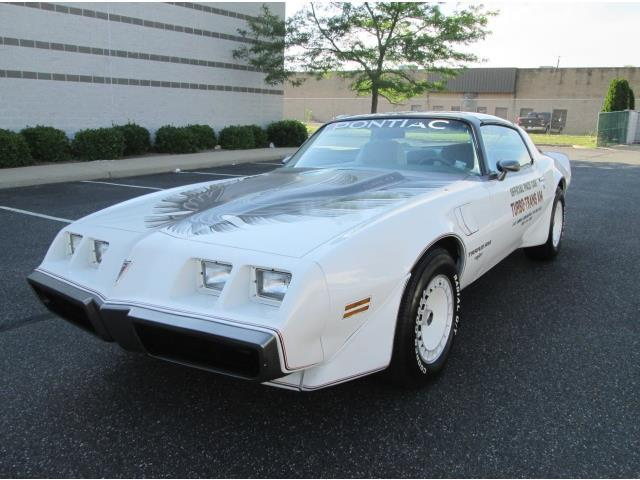 1980 Pontiac Trans Am Turbo Indy Pace Car Only 30k Miles Documented Great Find
