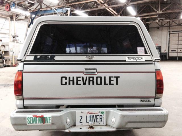 1981 Chevrolet Luv Diesel