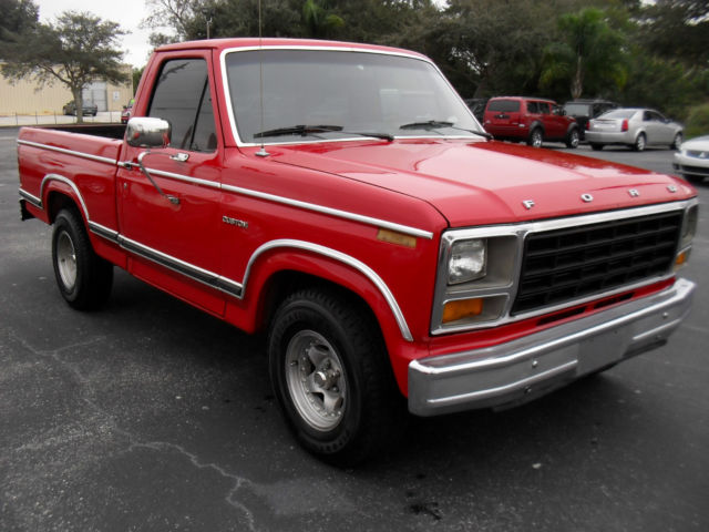 Palm Bay Ford >> 1981 FORD F-100 SHORT BED V-8 82 83 84 85