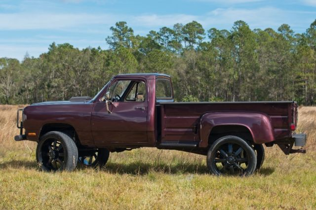 1982 Dodge Stepside 440 4x4 Custom