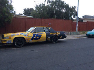 1982 Ford Thunderbird Wrangler Nascar Replica Car 15 Of Dale