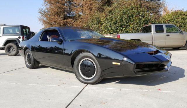 1982 pontiac firebird knight rider kitt car. Black Bedroom Furniture Sets. Home Design Ideas