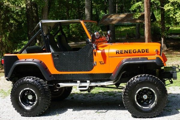 1983 jeep cj7 v8 383 stroker motor 500 hp  lifted