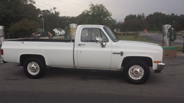 How Much Does A New Transmission Cost >> 1984 Chevrolet Custom Deluxe C20