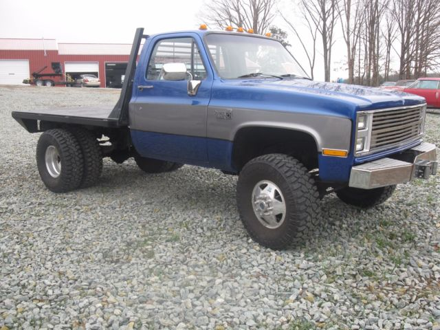 Trucks For Sale In Missouri >> 1984 Chevrolet K30 Flatbed 1 ton 454 engine with manual 4 speed