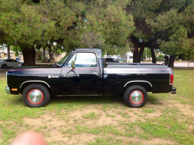1984 Dodge Ram Pick Up Truck Custom 150 V8 318 Automatic Short Bed Cold Ac 83 85